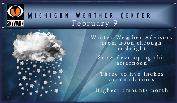 Winter Continues – Winter Weather Advisory