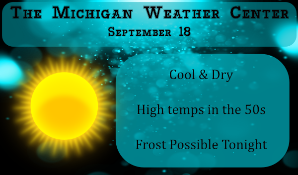 Cooler Temps & Frost
