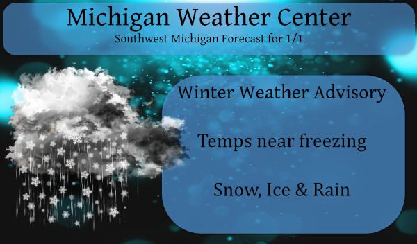Happy New Year – Winter Weather Advisory