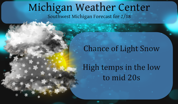 Light Snow & Warming Trend